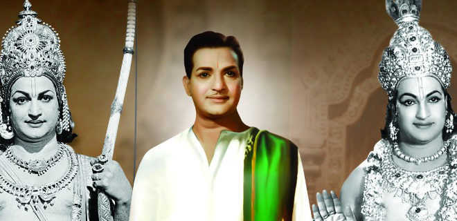 A solid tribute to NTR garu on his death anniversary