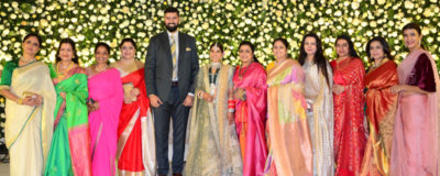 Jayasudha Kapoor son Nihar Kapoor wedding reception