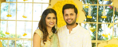 Nithiin Engagement with Shalini Photos