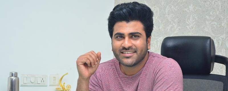 Sharwanand interview pics