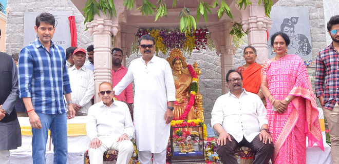 Vijaya Nirmala statue inaugurated