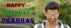 Happy Birthday Prabhas