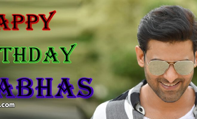 Happy Birthday Prabhas