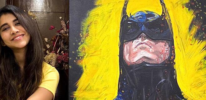 Nabha Natesh pays an ode to Batman