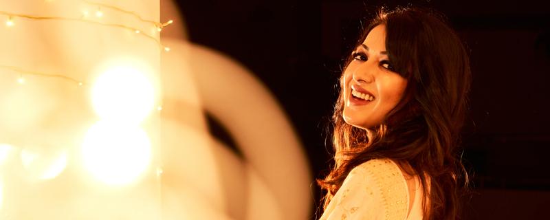 Catherine Tresa Diwali special Photos