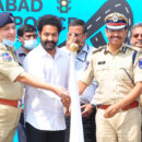 Jr Ntr at Cyberbad Traffic Police first Annual Conference Event