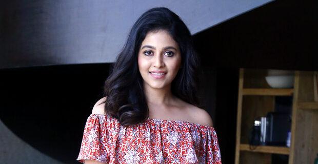 Anjali Interview Photos